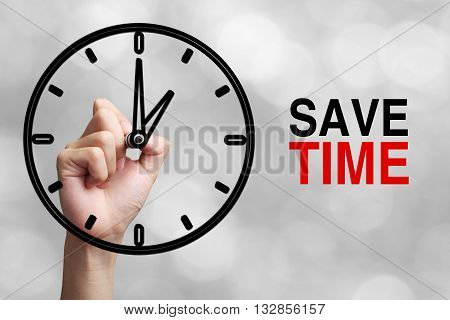 Save Time Concept