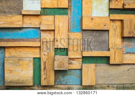 old wood panel abtract background and wallpaper