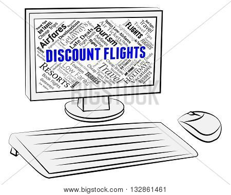 Discount Flights Means Computing Computers And Pc