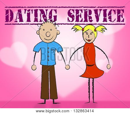 Dating Service Means Web Site And Business