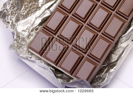 Chocolate On The Foil