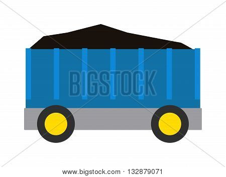 Vector coal wagon train cargo wagon and wagon train tank. Cars wagon train and wagon train transport railroad. transportation railway locomotive part wagon train and retro vehicle wagon train.