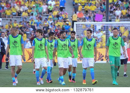 Brazilian National Team Substitutes During Copa America Centenario