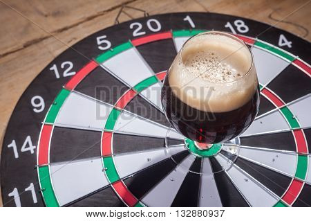 Dark Ale And Darts