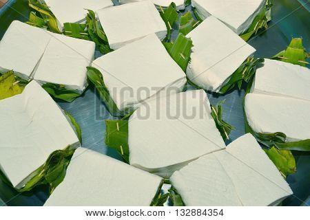Tofu soy tofu food, use for  background