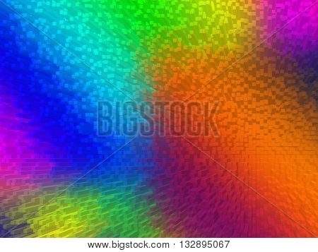 bright color gradient background Extrusion squeezing squeezing