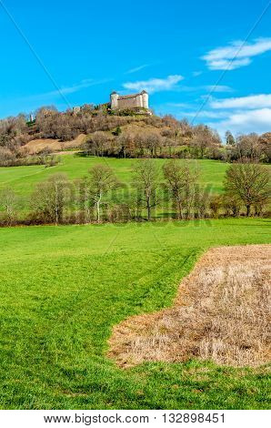 Castle Of Belvoir In France