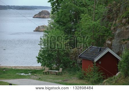 the nature and the cities of norway