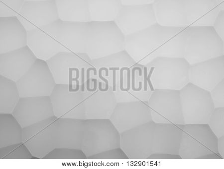 Abstract picture panels made of gypsum with geometry pattern photo