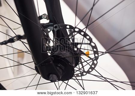 Front Wheel Hub Of Bicycle