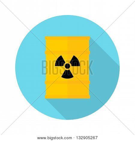 Barrel With Hazardous Chemicals