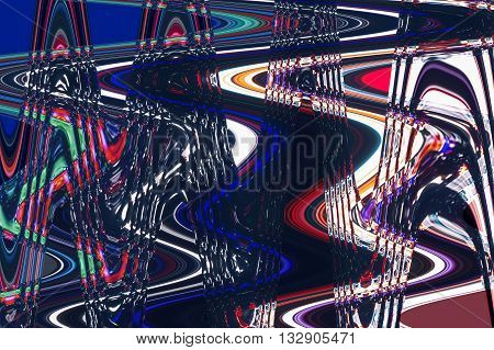 colorful abstract background texture. glitches distortion on the screen broadcast digital TV satellite channels
