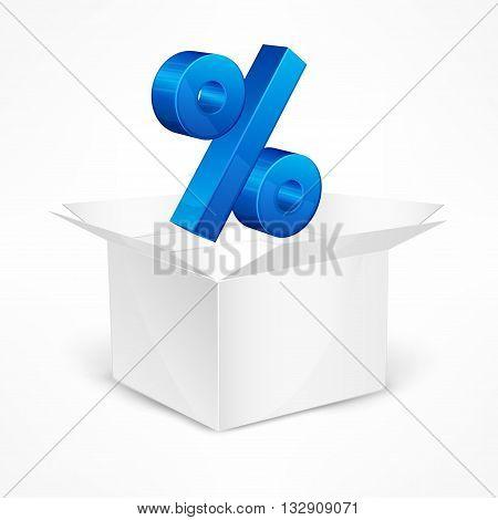 Percentage Sign In Box