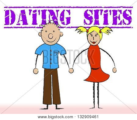 Dating Sites Shows Date Love And Websites