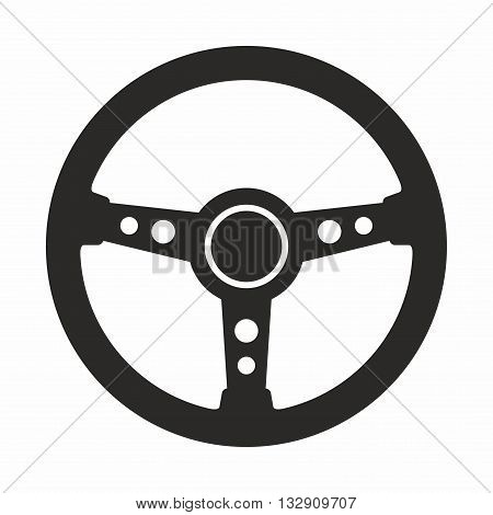 A steering wheel is a type of steering control in vehicles.