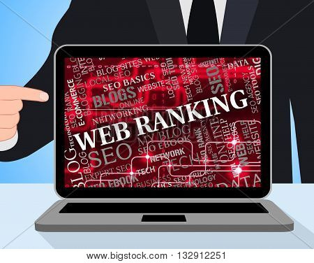 Web Ranking Means Search Engine And Internet