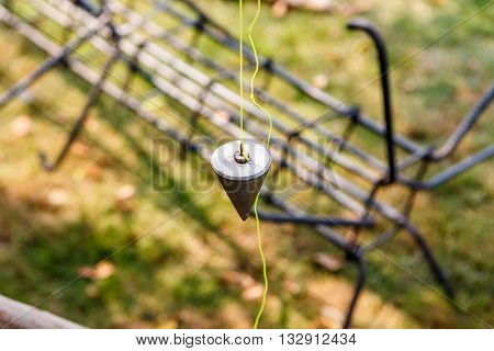 Plumb Bob For Construction Job