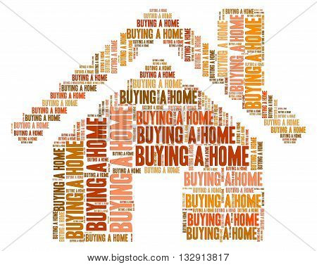 Buying Home Showing Purchases Property And Properties