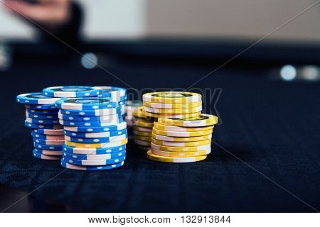playing chips, casino games in particular poker
