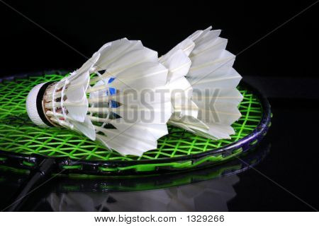 Shuttlecock And Badminton