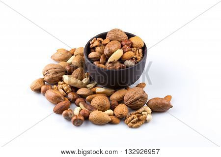 Nuts Mix In Bowl
