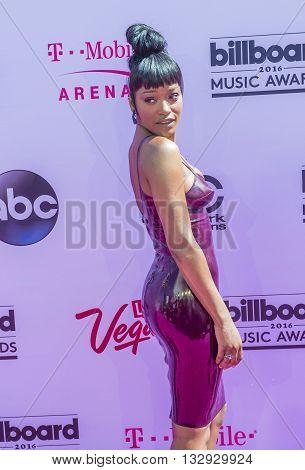 LAS VEGAS - MAY 22 : Actress/singer Keke Palmer attends the 2016 Billboard Music Awards at T-Mobile Arena on May 22 2016 in Las Vegas Nevada.