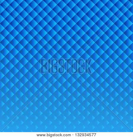 Abstract geometric background of rhombus shapes. To obtain brochures posters web design. Vector illustration.