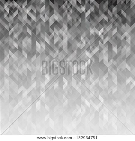 Abstract background in gray tones. The background for the site covers presentations banners. Grey wallpapers. Vector illustration.