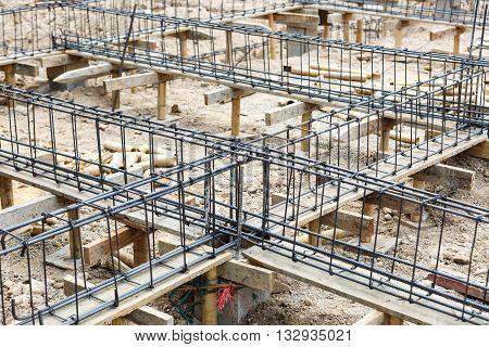 Foundation Steel For Home Building