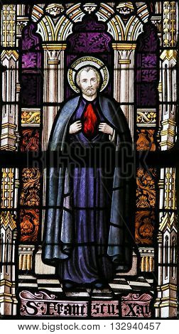 Stained Glass - Saint Francis Xavier