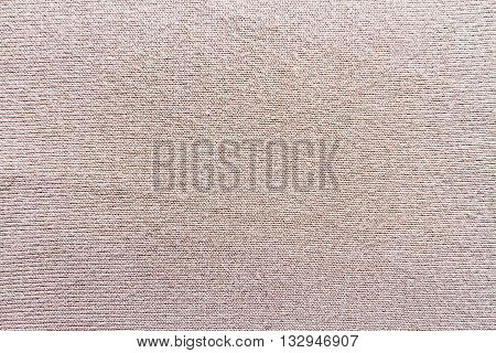 Close up of fabric texture beige sweater