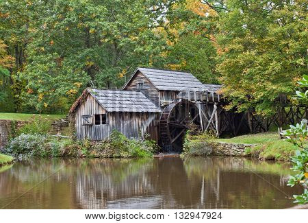 Mabry's Mill along the Blue Ridge Parkway, Virginia