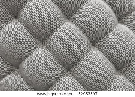 Background Pattern Closed up of Abstract Texture of Gray Fabric Sofa or Upholstery Background.
