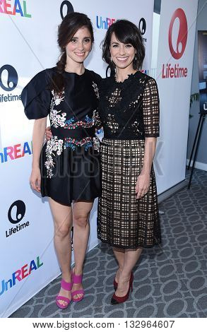 LOS ANGELES - JUN 04:  Shiri Appleby & Constance Zimmer arrives to the 'UnReal' FYC ATAS Event  on June 04, 2016 in Hollywood, CA.