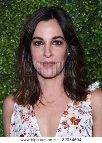 LOS ANGELES - JUN 02:  Lindsay Sloane arrives to the 2016 CBS Summer Soiree  on June 02, 2016 in Hollywood, CA.