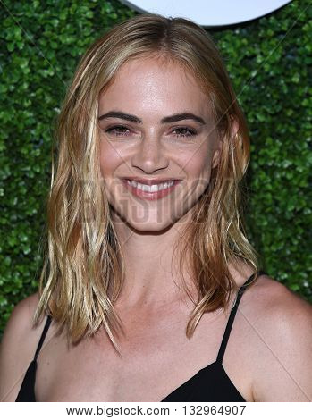 LOS ANGELES - JUN 02:  Emily Wickersham arrives to the 2016 CBS Summer Soiree  on June 02, 2016 in Hollywood, CA.