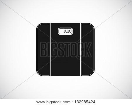 digital scale web icon