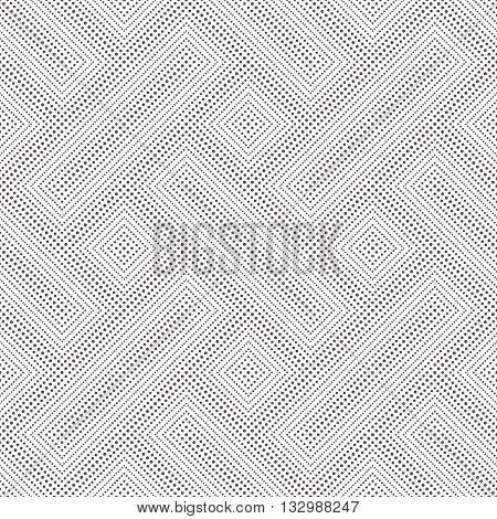 Seamless pattern. Abstract small dotted background. Modern stylish texture with regularly repeating dotted geometrical shapes small dots rhombuses. Vector element of graphic design