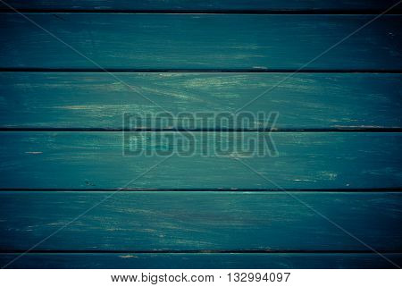 Dark background. Wooden navy horizontal boards background. Empty for design.