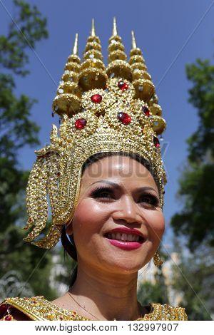 Thailand (thai) Culture Vertical Portrait