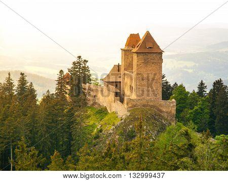 Kasperk castle in Southern Bohemia, Czech Republic
