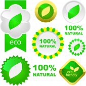 image of environmentally friendly  - Set of eco friendly - JPG