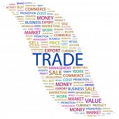stock photo of international trade  - TRADE - JPG