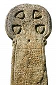 Ancient Weathered Celtic Cross, Cornwall, Uk poster