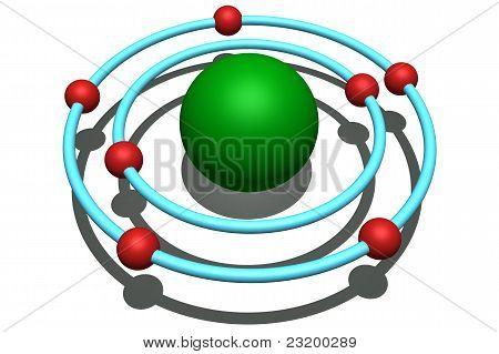 átomo de nitrogênio
