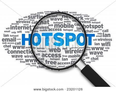 Magnifying Glass - Hotspot