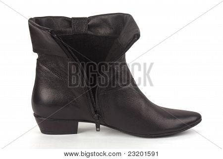 One Short Black Boot
