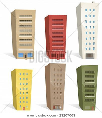 Buildings Set