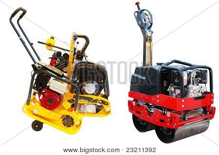 Road Roller And Asphalt Repair Machine