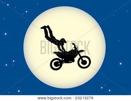 Motor Cross Moon